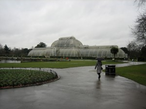 That's Me, Walking Toward the Palm House