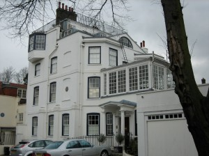 House of Retired Admiral (who shot 12 cannon from the rooftop for every British navel victory and served as inspiration for the Admiral Boom of Mary Poppins