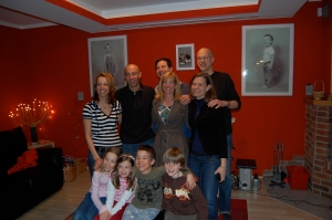 Lucie, Petr, Jeff, Lisa, Niels, Me, Belinda, Brooke, Oliver and Grant