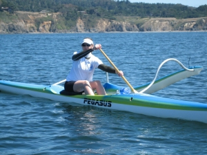 On My Blue Canoe in Mendocino